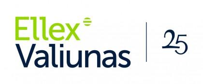 Ellex Valiunas 25 - Logo - V - JPG - White background
